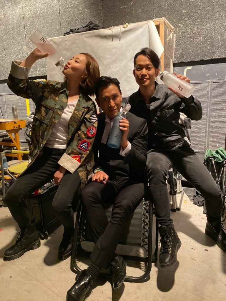 敖嘉年在新劇《伙記辦大事》演馬德鐘的弟弟,與陳瀅合作愉快。