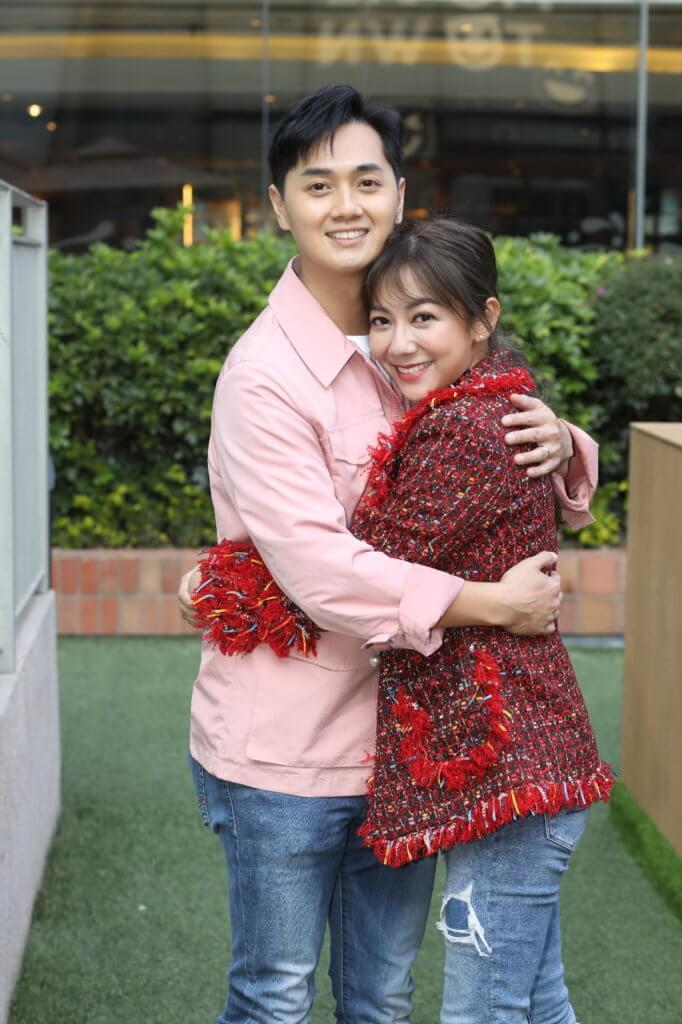 鄭俊弘與何雁詩去年成為夫妻,婚後兩人更加恩愛,生活上卻烏龍百出。