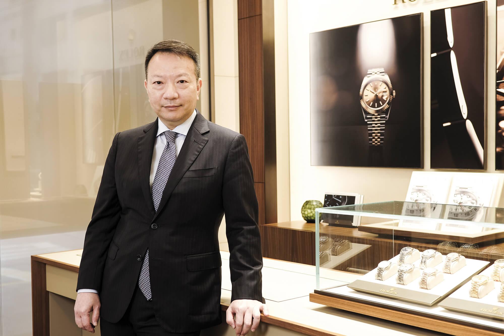 蘇麗鐘錶總經理陳國華