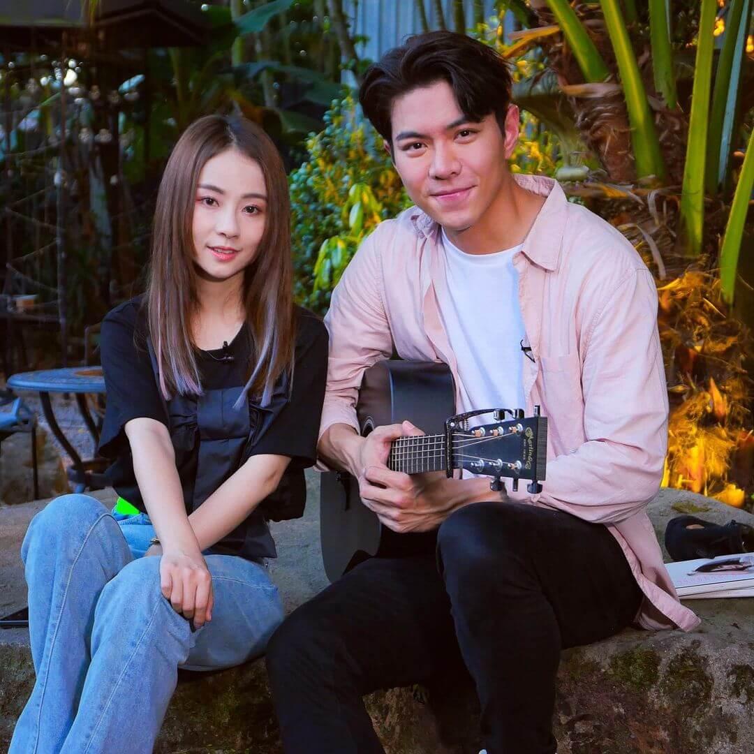 羅天宇與谷婭溦合唱無《哭牆》的短片吸引近百萬次點擊