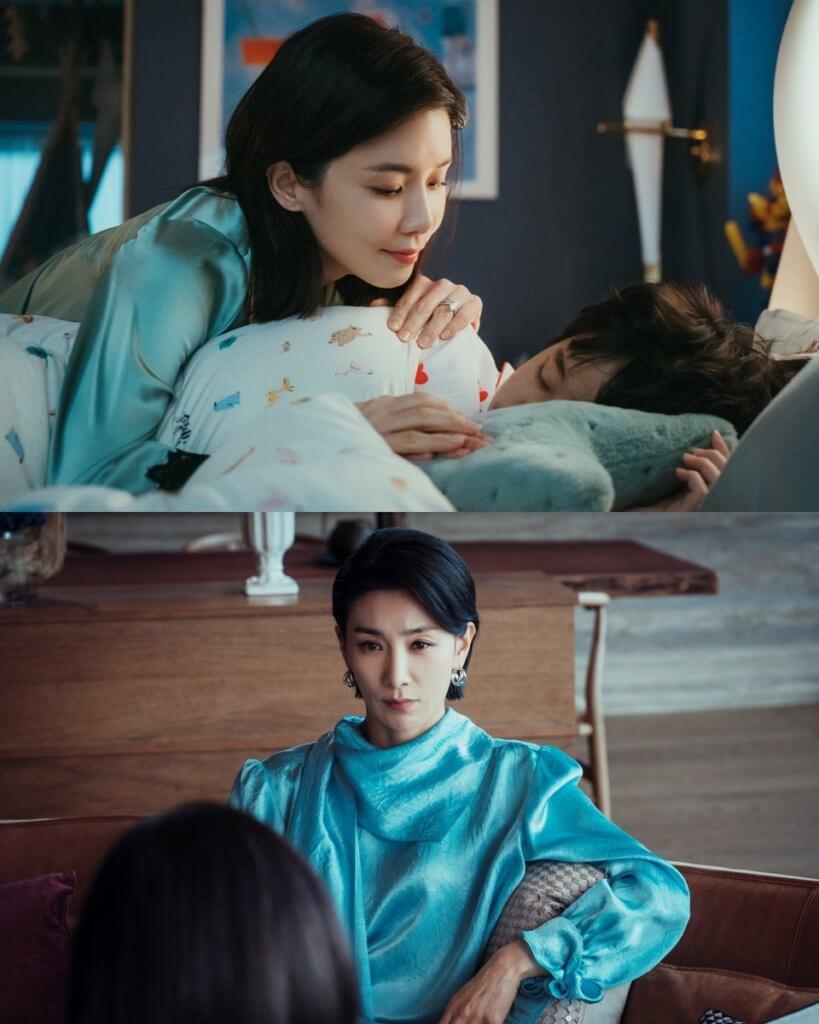 李寶英在劇中飾演嫁入豪門的女星,與飾演姑奶的金瑞亨各有秘密。