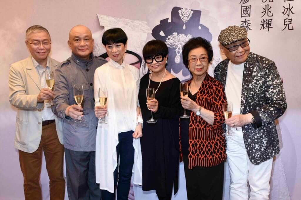 阿嗲梅雪詩為普哥離世傷心,阮兆輝、廖國森、任冰兒和陳寶珠,都在與普哥在舞台上很多難忘回憶。