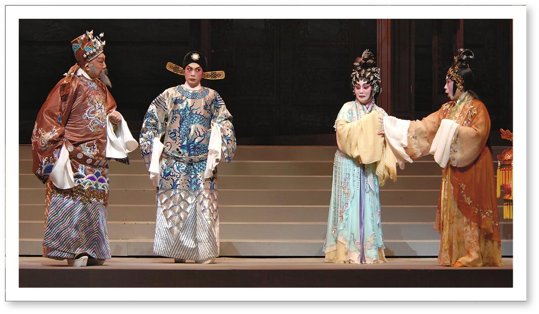 與龍劍笙和阿嗲合作的《帝女花》,普哥飾演周鍾。