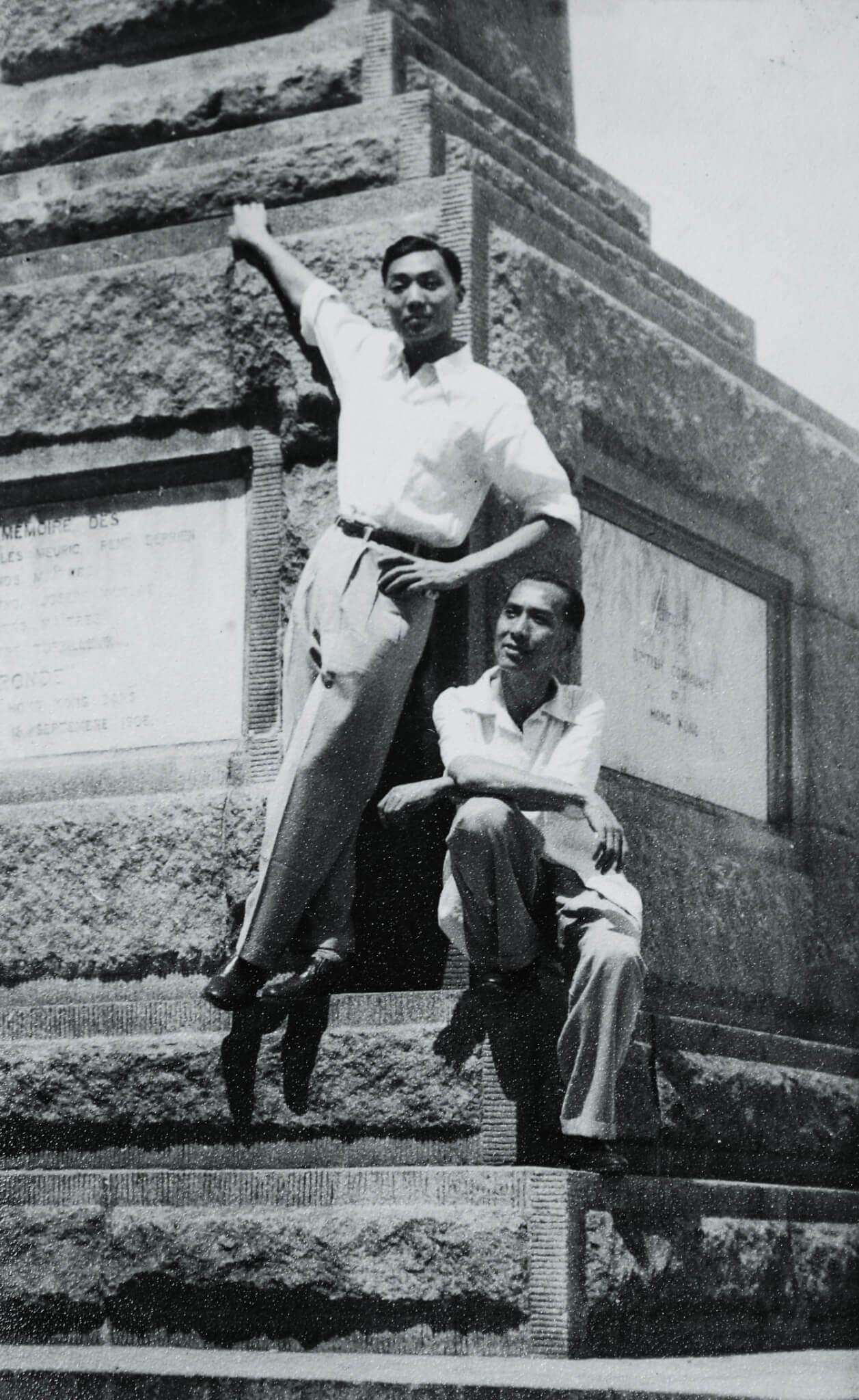 尤聲普父親尤驚鴻是第二花旦,普哥跟着他經常有機會在舞台上串演。
