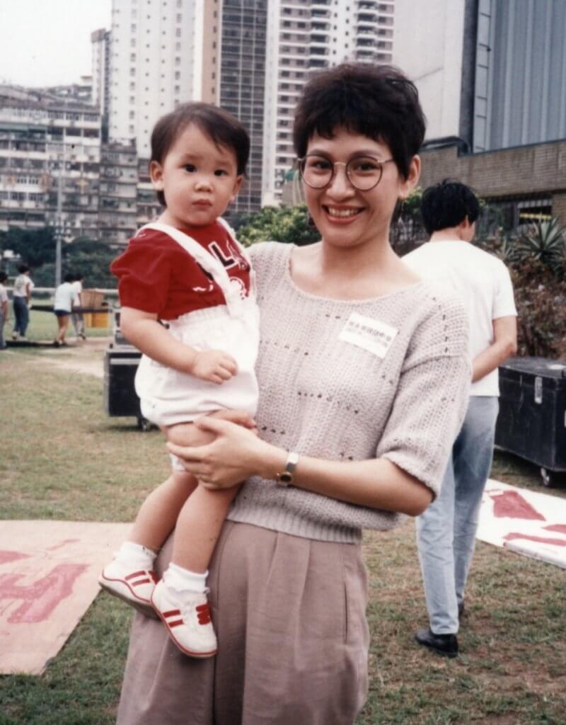 余安安八八年誕下長女李文琪