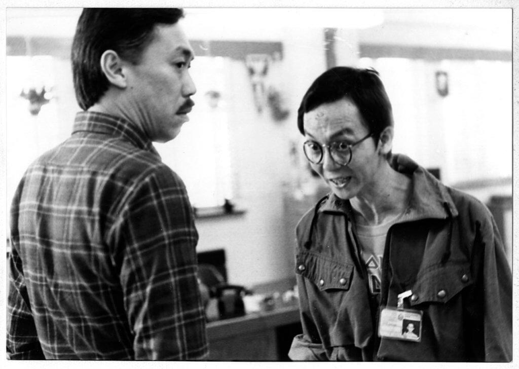 馮淬帆和龍天生都是八十年代觀眾熟悉的TVB性格演員,都做過幕前和幕後。