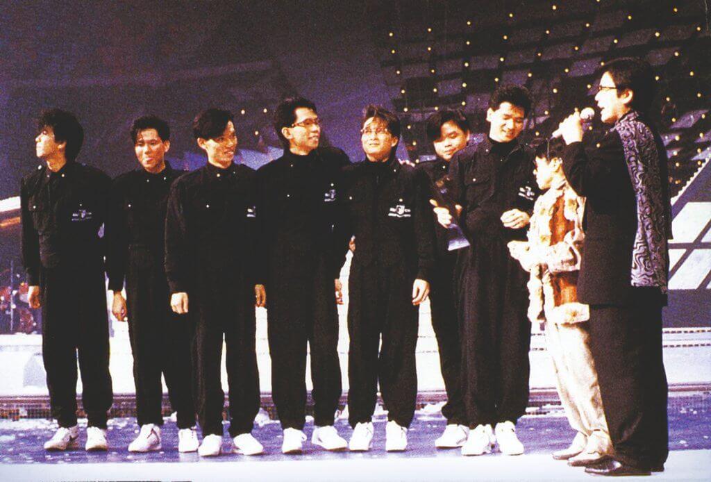 太極八十年代中一出道位列最受歡迎樂隊三甲