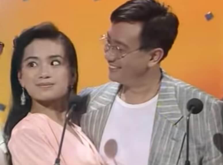 吳麗珠和羅浩楷扮B哥B嫂