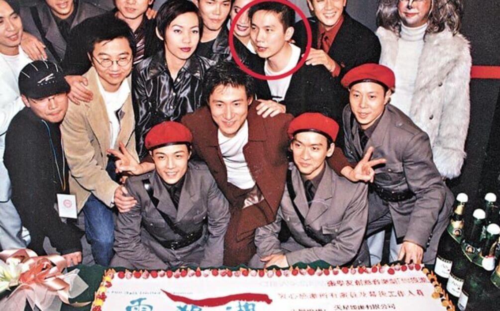 趙增熹與張學友《雪狼湖》團隊大合照