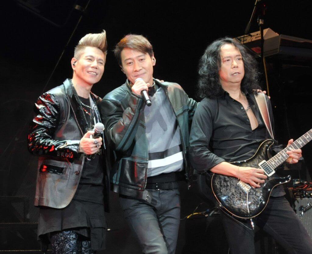 黎明做太極演唱會的表演嘉賓,與鄧建明、雷有輝合唱。