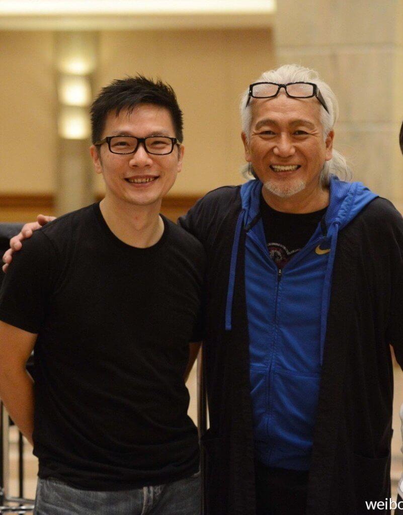 趙增熹最自豪的一次演出,一五年擔任玉置浩二香港演唱會的指揮。