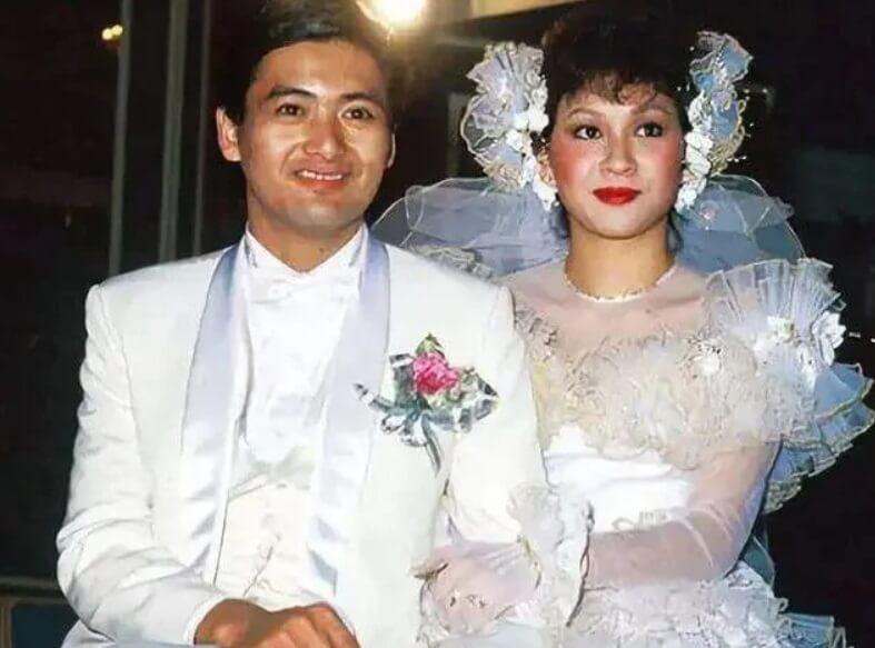 余安安1983年與周潤發結婚,這段婚姻只維持九個月。