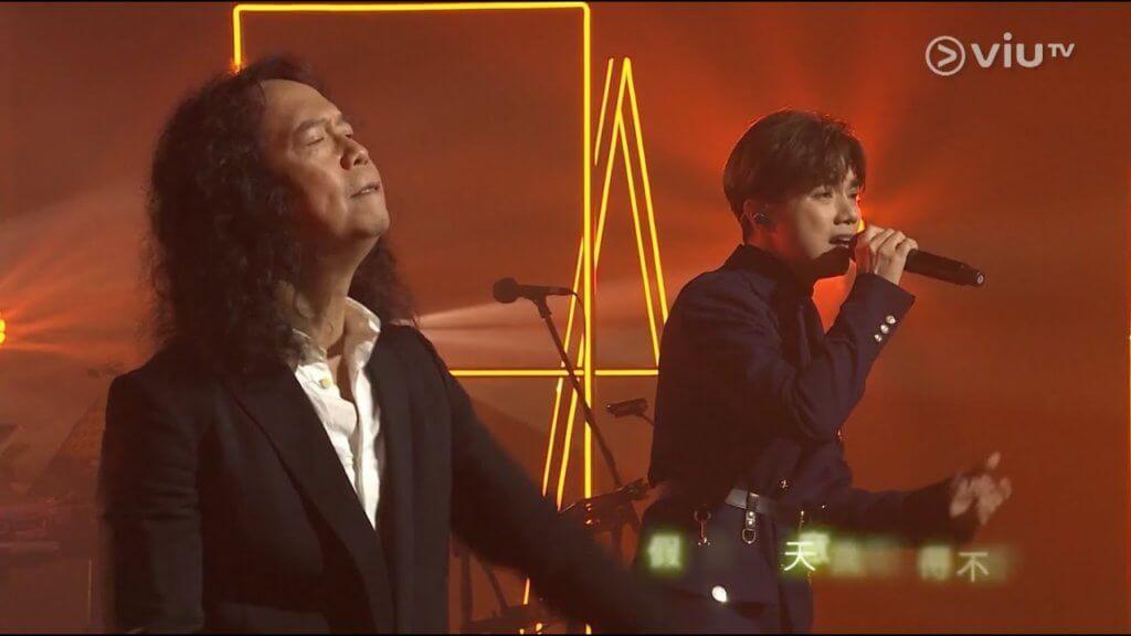 張敬軒在《Chill Club》和鄧建明合唱《If X 假如》