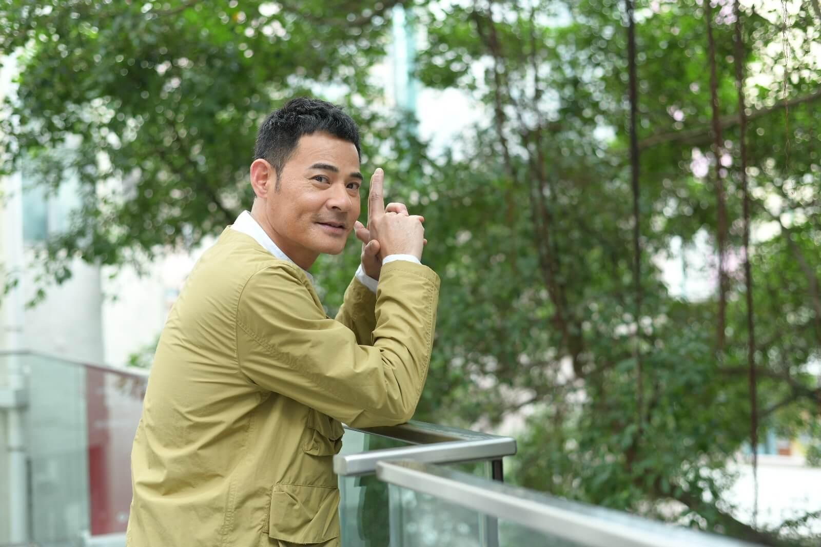 黃智賢去年暫停了拍劇,趁着假期陪伴太太,享受家庭樂。