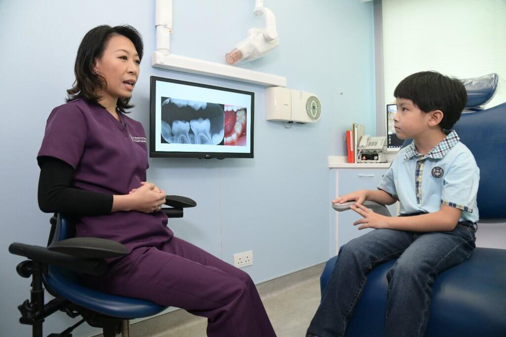 小朋友養成良好的飲食習慣,可減低蛀牙的機會。