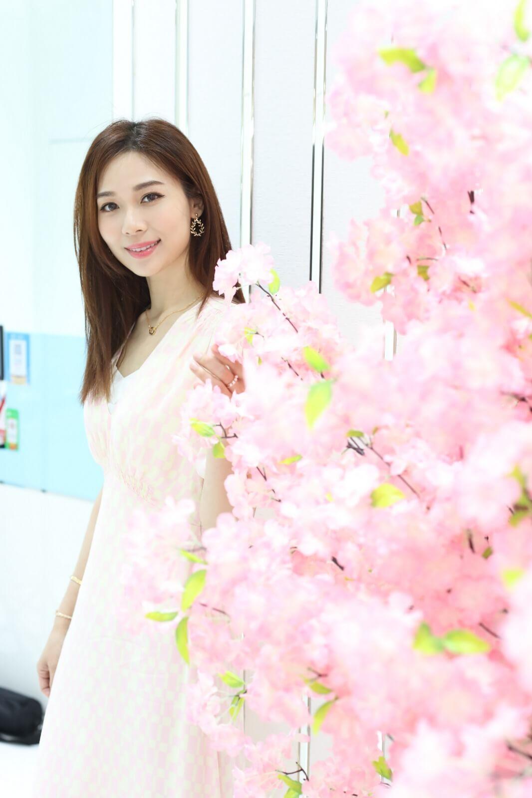 楊秀惠自去年結婚及生B後,已專心照顧家庭及美容生意。