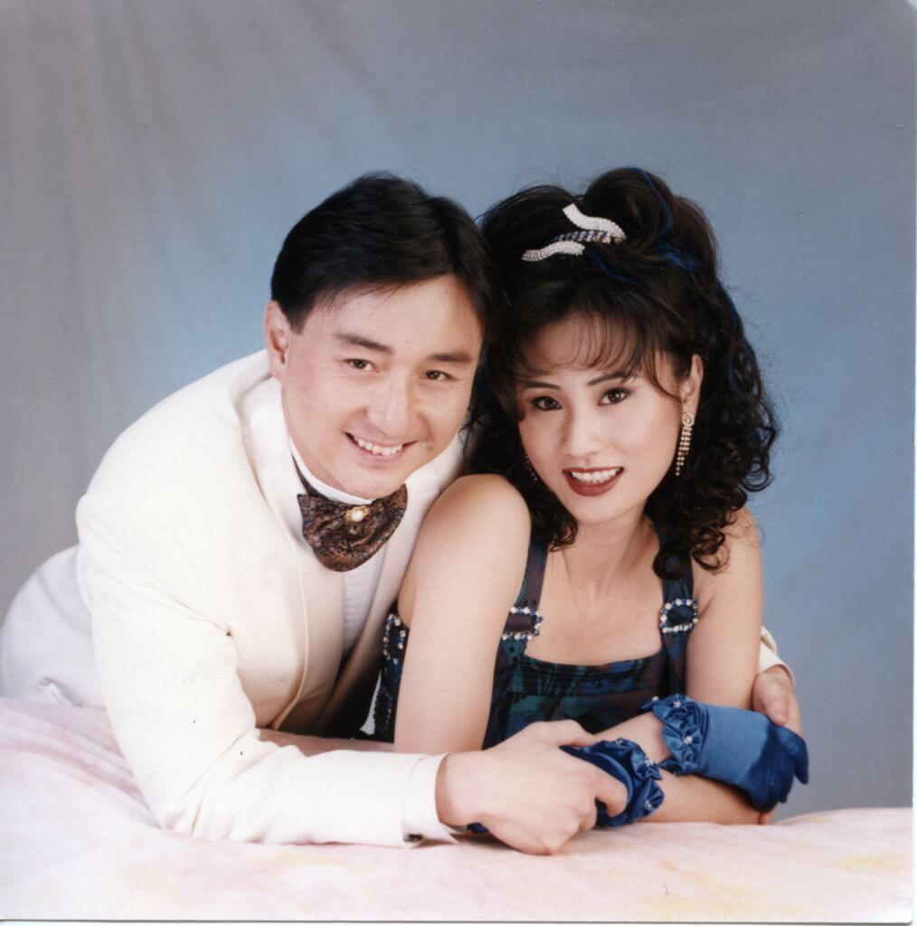 吳岱融與鍾淑慧1992年在無綫拍劇集《人‧鬼‧狐》時擦出愛火,1995年結婚。