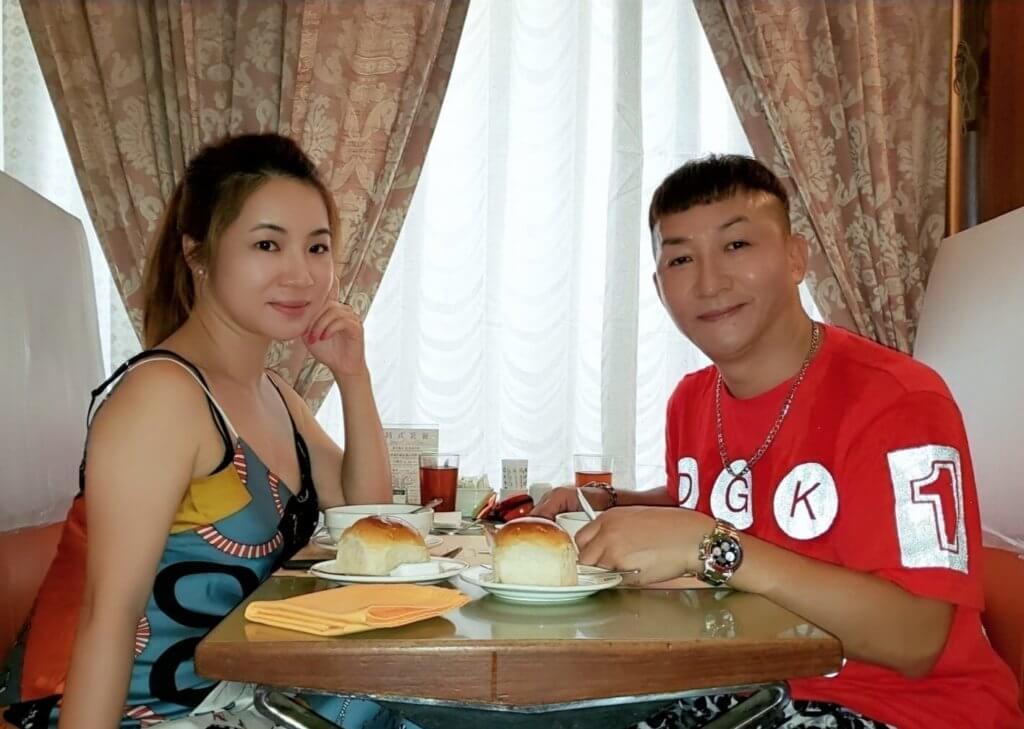 張立基與女友Fiona