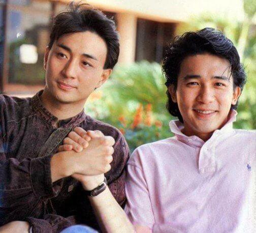 與梁朝偉拍《絕代雙驕》,兩位主角一起在外地走紅和出國語碟。