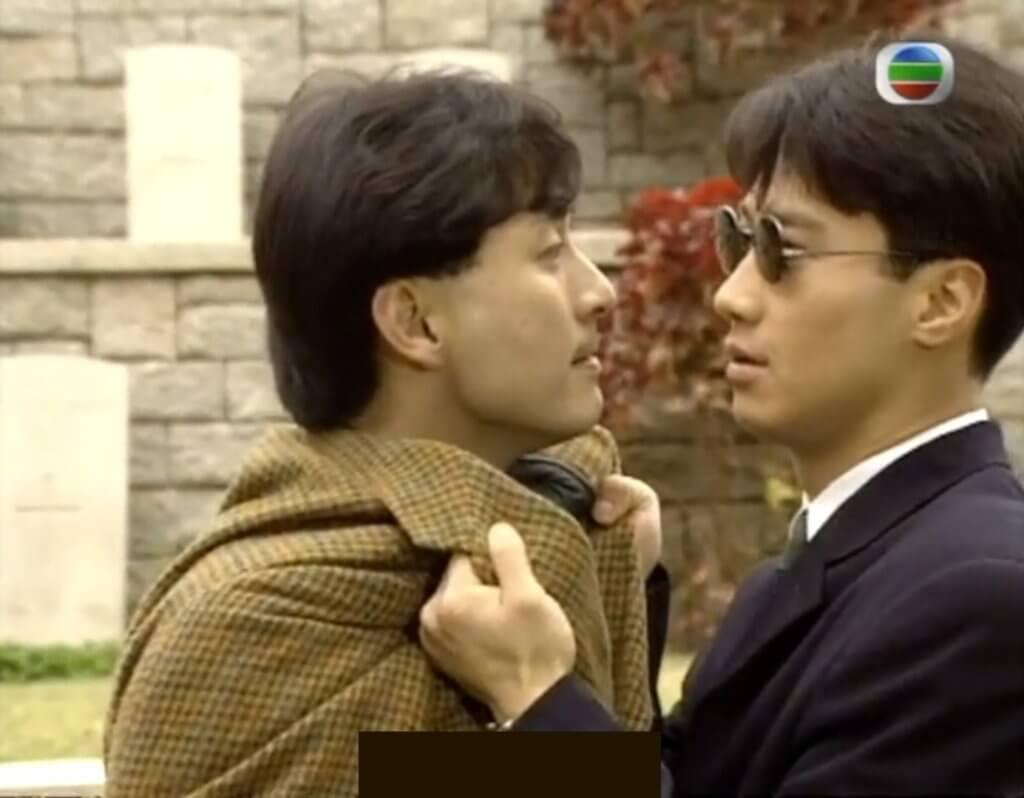 在劇集《原振俠》中,吳岱融演反派,針對黎明演的原振俠。
