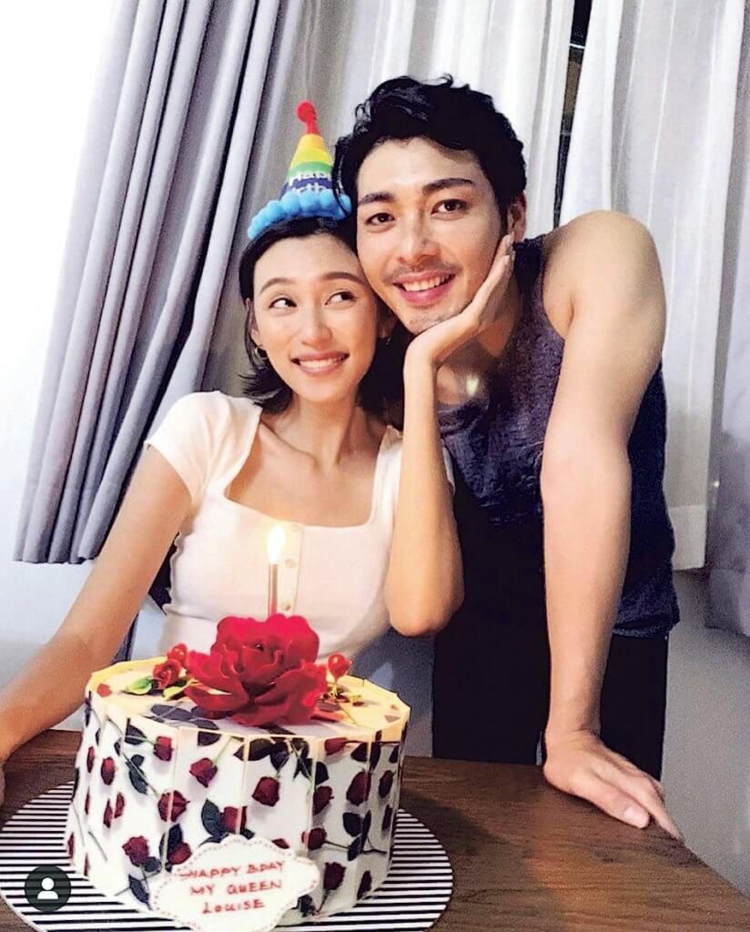 羅孝勇和王丹妮去年10月註冊結婚