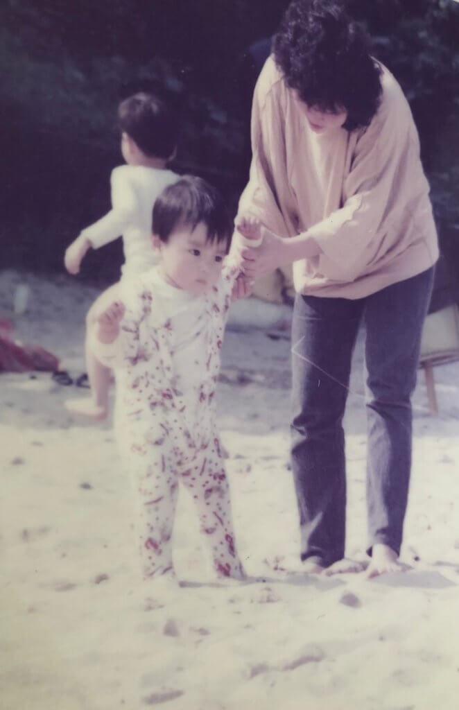 林景程自責童年時不聽媽媽的話