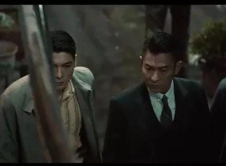羅孝勇在《追龍》做劉德華的保鏕