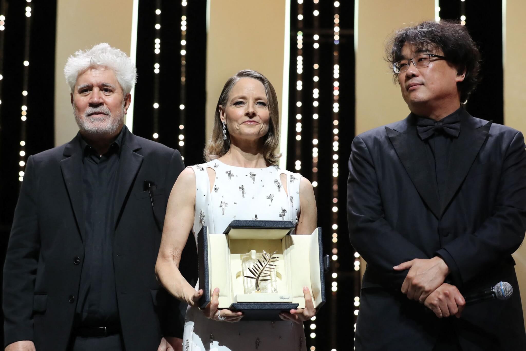 資深荷李活演員茱迪科士打獲得「金棕櫚榮譽大獎」。