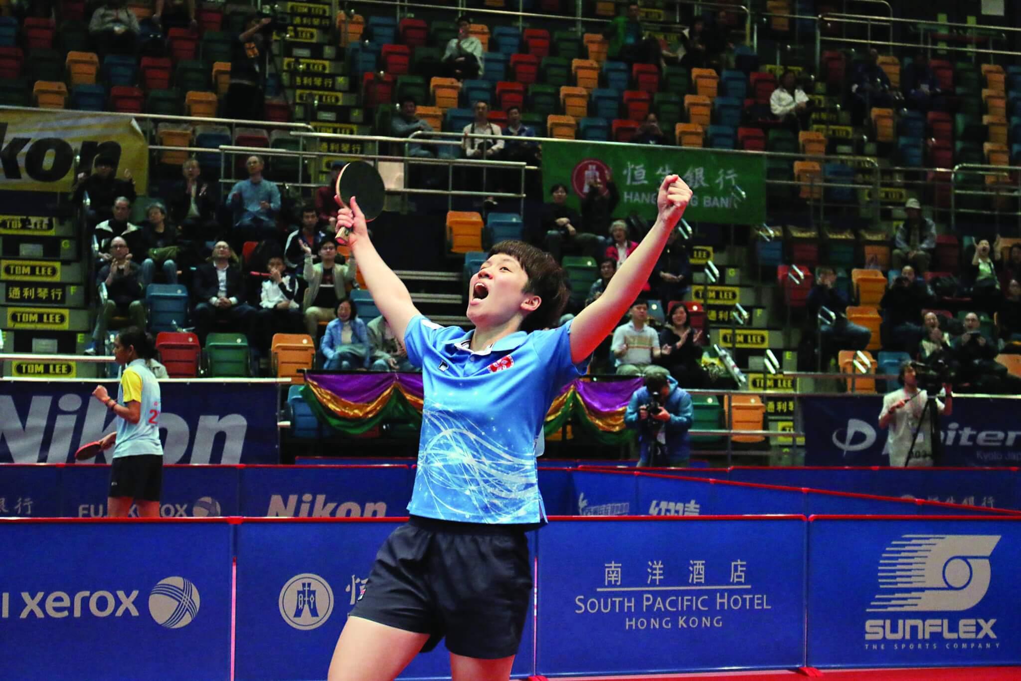 凱琹在國際賽中打出好成績,世界排名不斷上升。