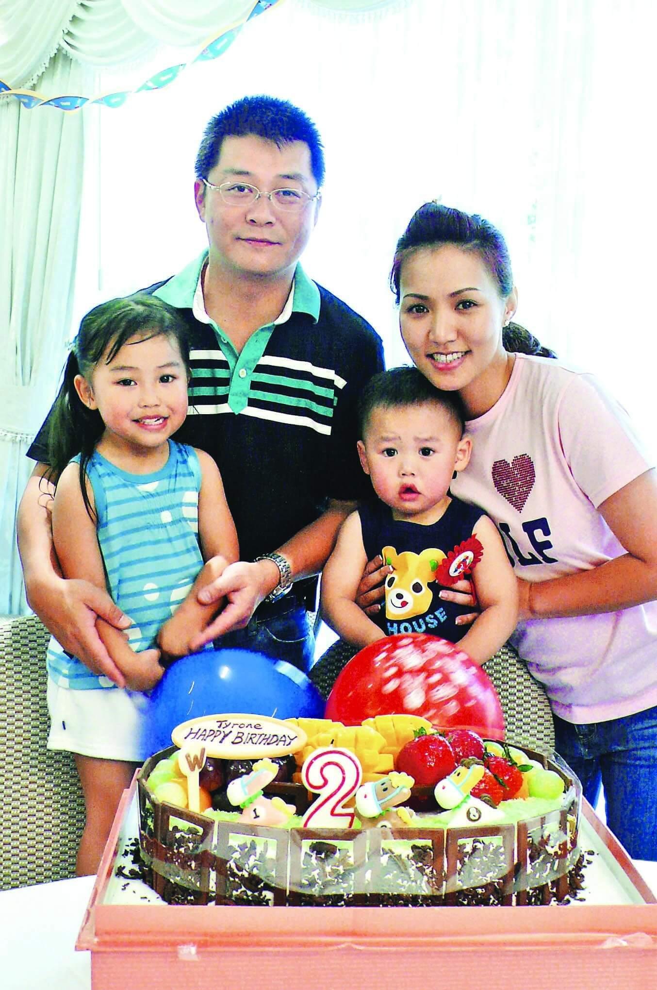 黎瑞恩與丈夫、兒子及女兒圖片由受訪者提供l1010948.jpg