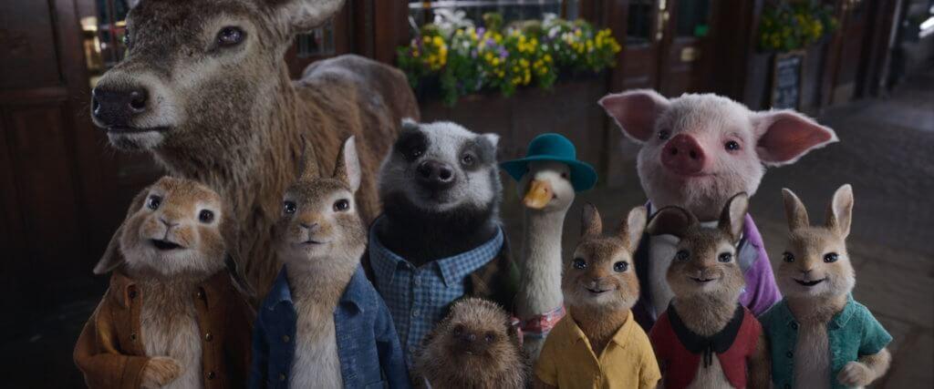 《比得兔2:走佬日記》的新舊動物角色萌爆