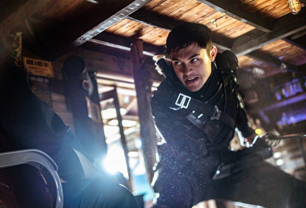 「西洋版呂良偉」亨利高定在《義勇群英:蛇眼復仇戰》首次挑戰動作戲,飾演「無聲忍者」蛇眼,非常型仔。