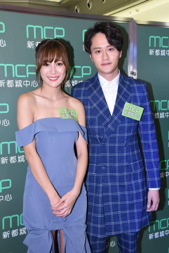 謝東閔和曾參加2012及2013年港姐的朱智賢拍拖數年