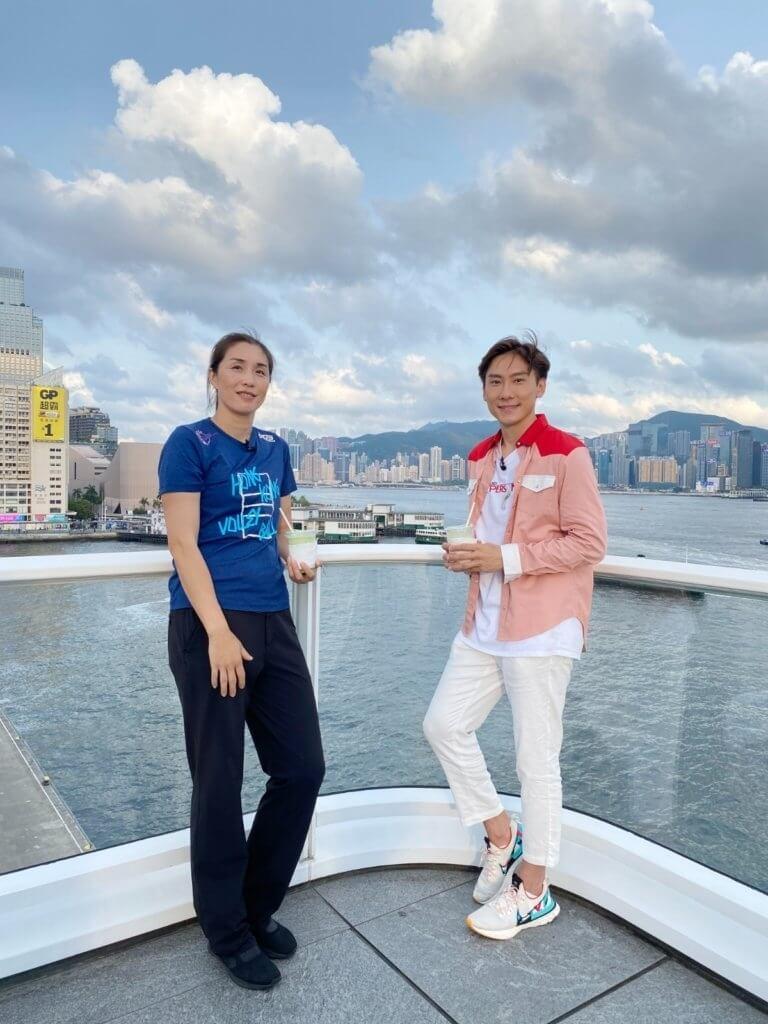 來港定居的孫玥,最近接受Patrick Sir主持的節目《尋找家香情》訪問,大談異鄉人移居香港生活。
