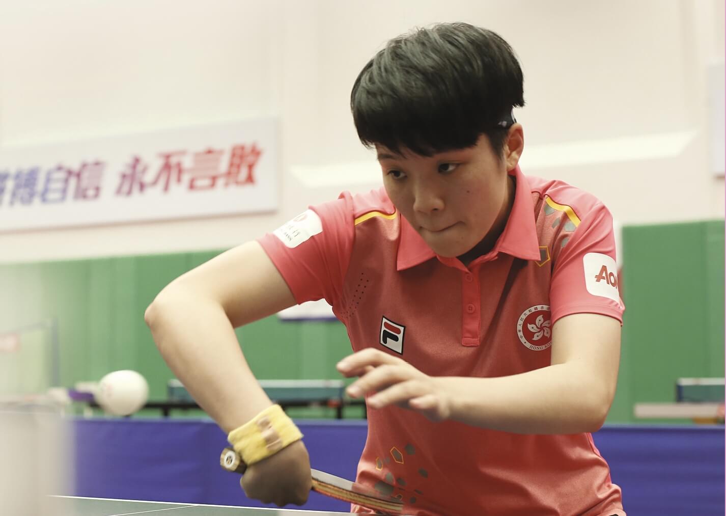 杜凱琹兩年前在伊館打敗中國乒乓「一姐」劉詩雯,下星期伊館舉行的分站賽,球迷期待她能交出好成績。