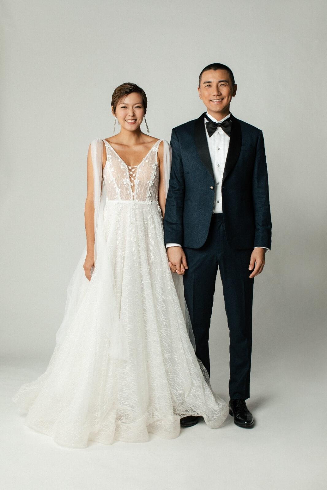 洪永城與梁諾妍結婚當日,Tony即場宣布太太已懷孕四個月。