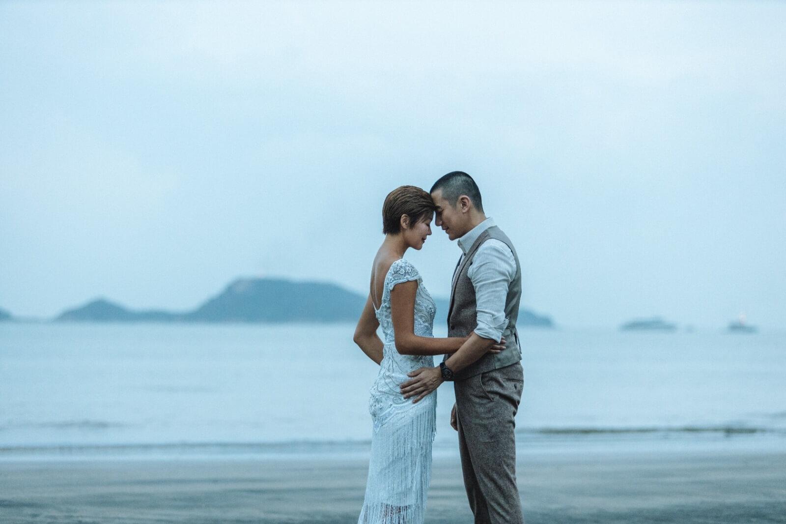 洪永城表示婚後會將收入全歸太太,做個愛妻男。