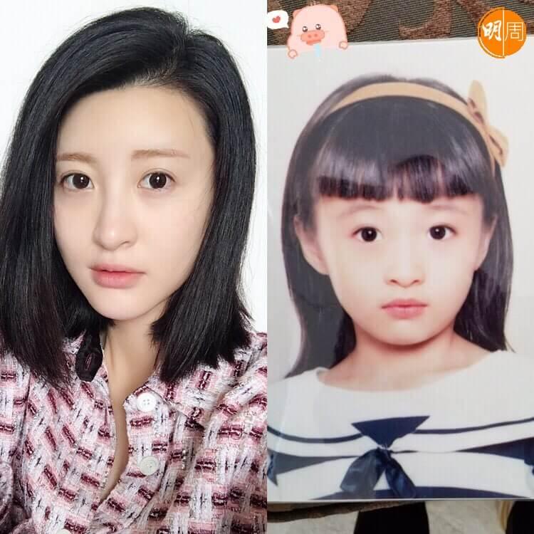林夏微自小喜歡表演,十六歲半到北京讀中央戲劇學院。