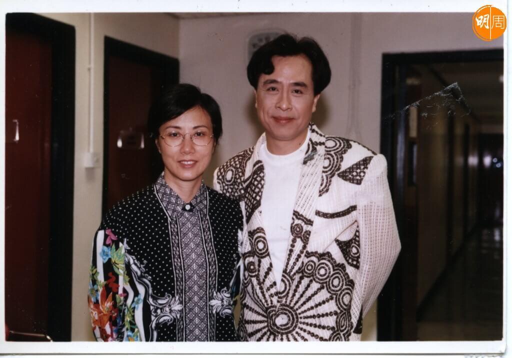 葉振棠和汪明荃在70年代都唱不少劇集歌