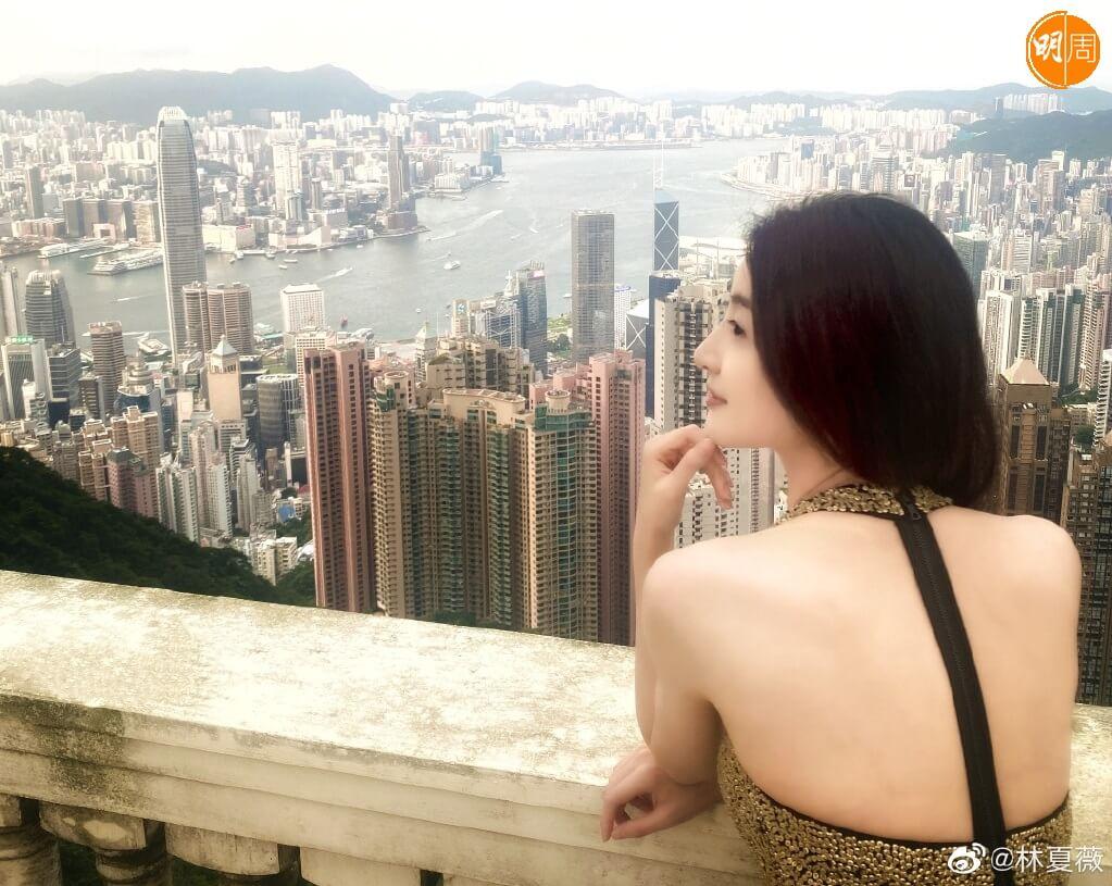 林夏薇在北京讀完書回港時,她說在香港沒有朋友和家人。