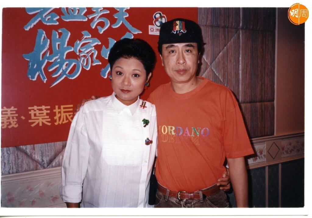 葉振棠和葉麗儀是多年拍檔,合稱「雙葉」。