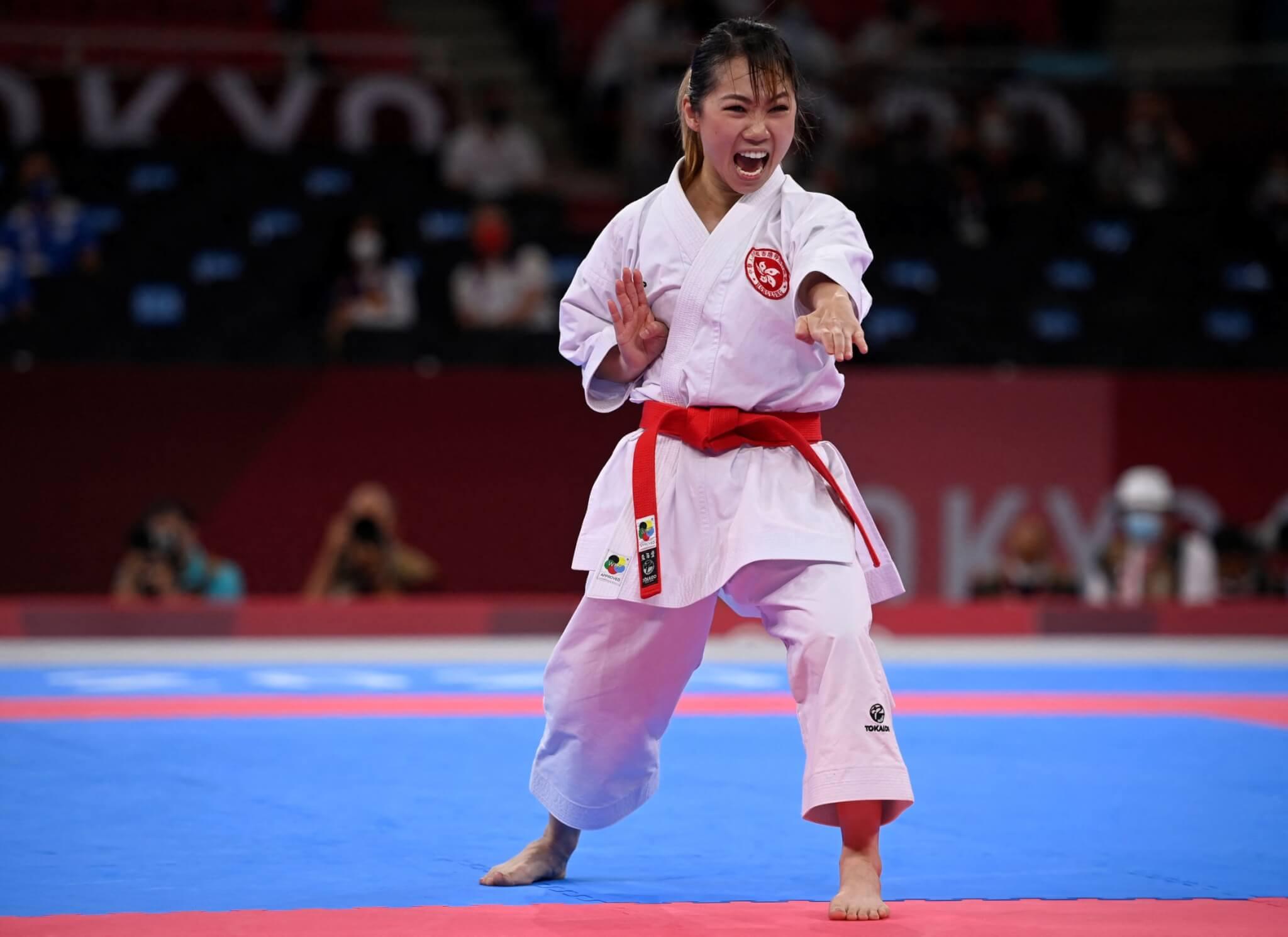 劉慕裳成功晉級,於今晚出戰銅牌賽。(法新社圖片)