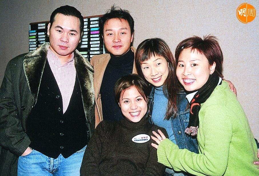 顏聯武在新城電台的年代,張國榮、林憶蓮等到電台錄廣播劇。