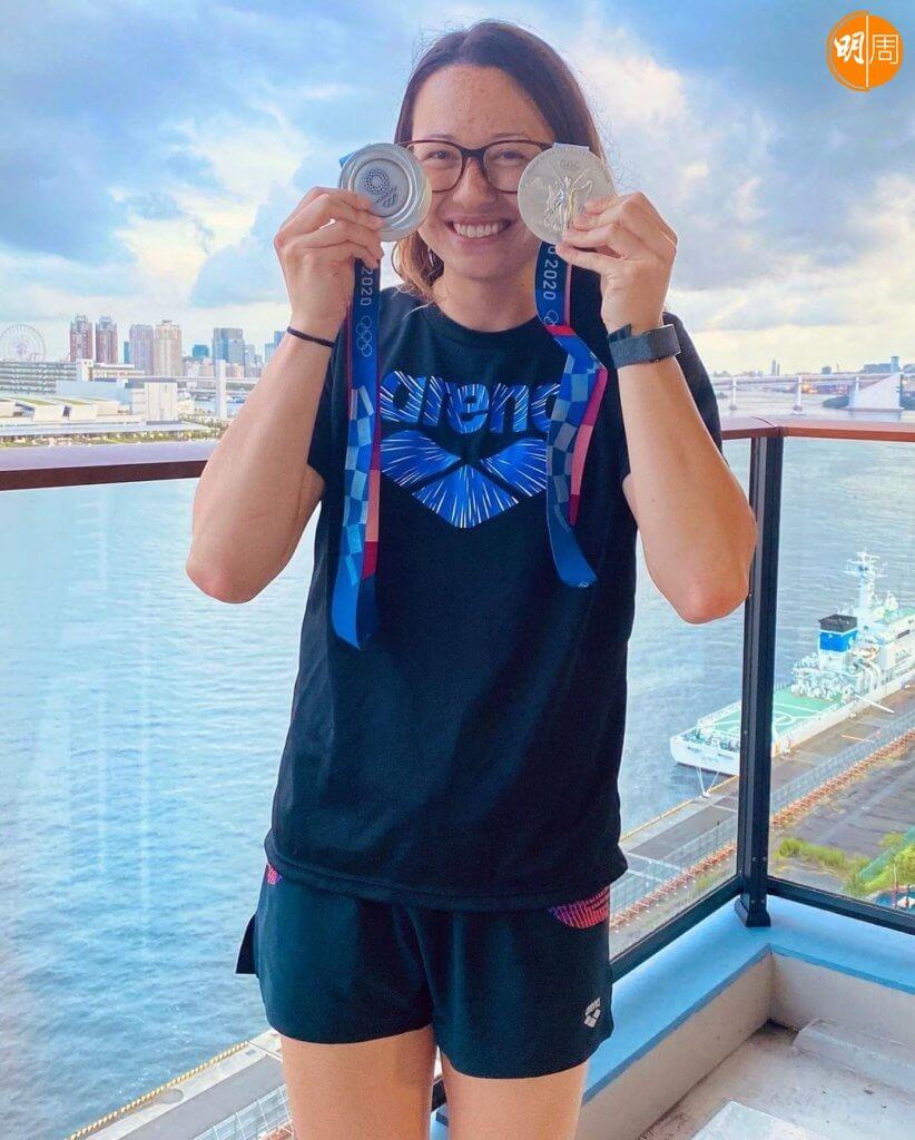 東京奧運 何詩蓓凱旋返港  「我完成晒今屆奧運賽事喇!」