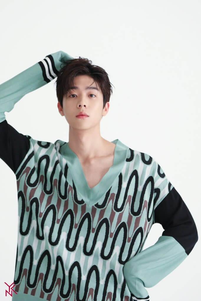 蔡鍾協身形高䠷,成為近期火速崛起最強男二。