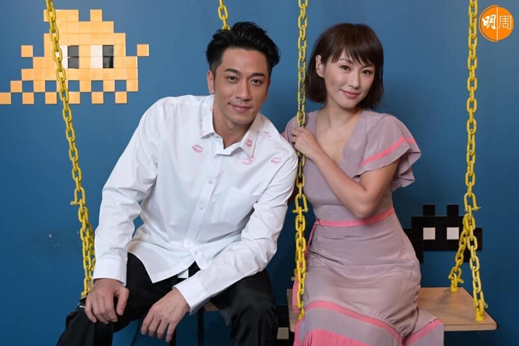 劉心悠與吳卓羲在新戲飾演鬥氣冤家,他們最懷念演員之一的智叔。