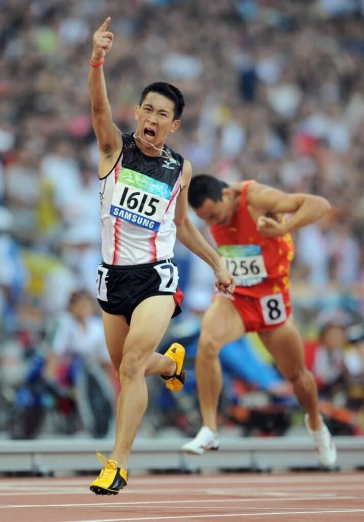 蘇樺偉在殘奧會曾奪六金佳續,被喻為超級神奇小子。(相片:法新社)