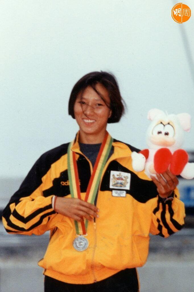 李麗珊二十五年前為香港贏得首面奧運金牌。