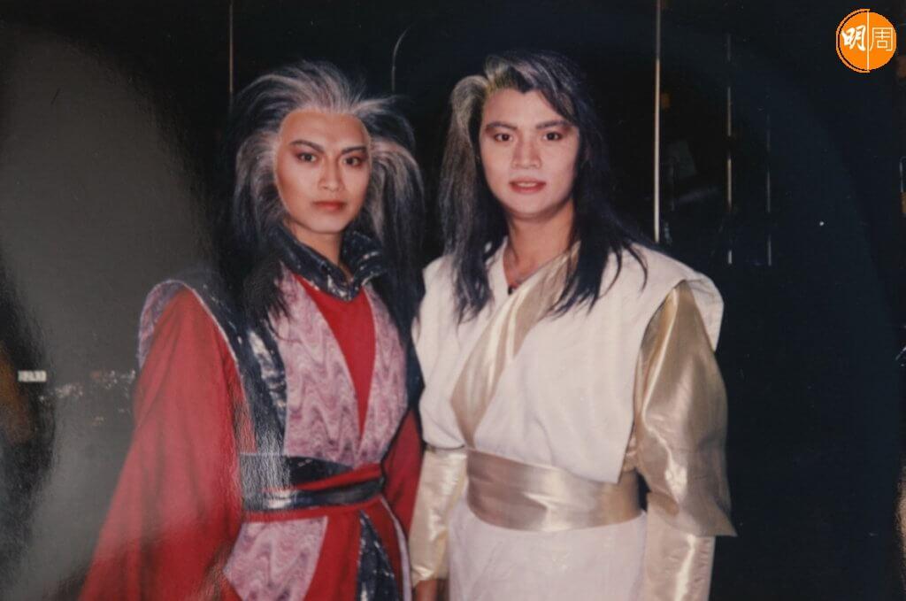 跟尹天照合作演出《天蠶變之再與天比高》,二人在劇中本是好兄弟,後來羅頌華演的角色因報仇致練功入魔,變成反派。