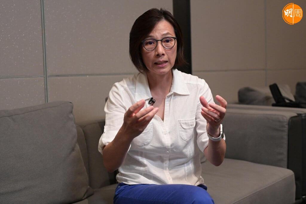李麗珊為開電視擔任奧運主持,大獲觀眾好評。